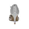 Strieborné dámske sandále na ihličkovom podpätku insolia, strieborná, 729-1634 - 15