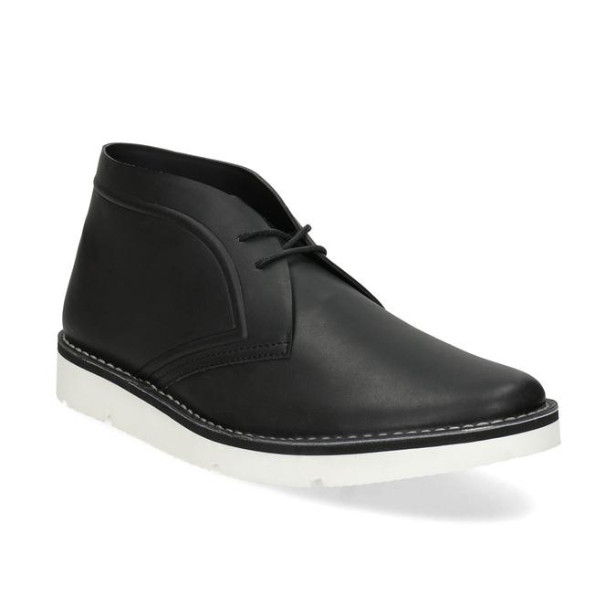Čierna pánska členková obuv bata-b-flex, čierna, 899-6601 - 13