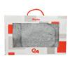 Sada pleteného šálu a čiapky bata, viacfarebné, 909-0141 - 19