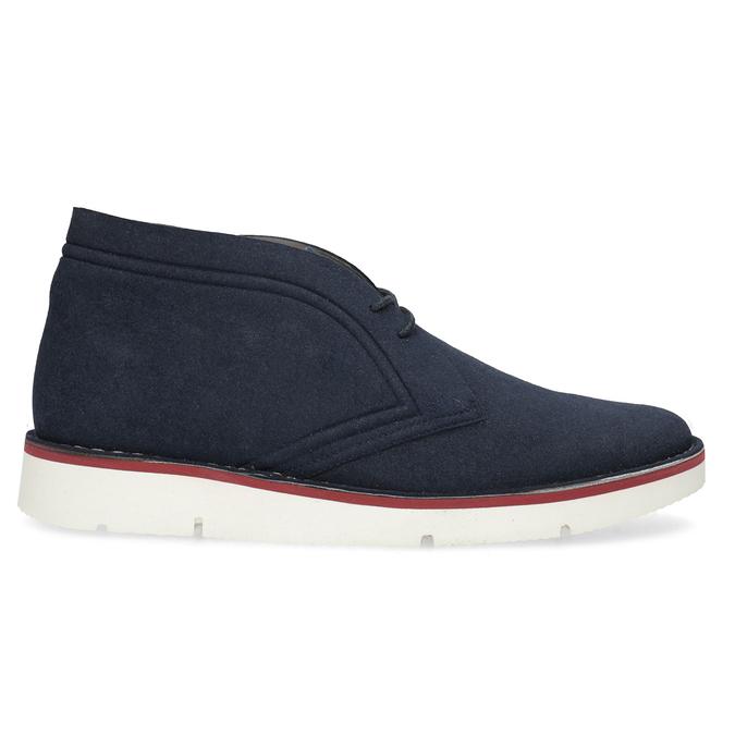 Modrá pánska ležérna členková obuv bata-b-flex, modrá, 899-9600 - 19