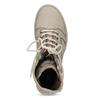 Béžová kožená dámska obuv vysoká weinbrenner, béžová, 596-8746 - 17