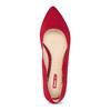 Červené dámske baleríny bata-red-label, červená, 529-5644 - 17