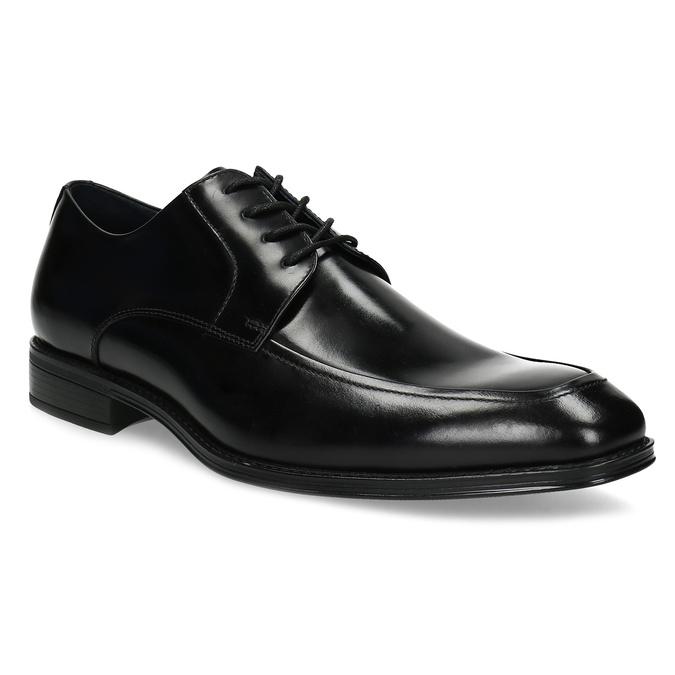 Kožené čierne derby poltopánky bata, čierna, 824-6837 - 13