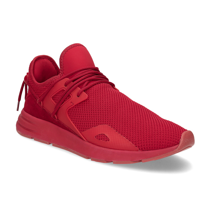 a9e1e3fd2a572 Bata Red Label Červené pánske tenisky z úpletu - Všetky topánky ...
