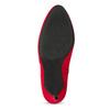 Červené dámske členkové čižmy na podpätku bata-red-label, červená, 799-5646 - 18