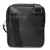 Čierna pánska Crossbody taška bata, čierna, 961-6966 - 16