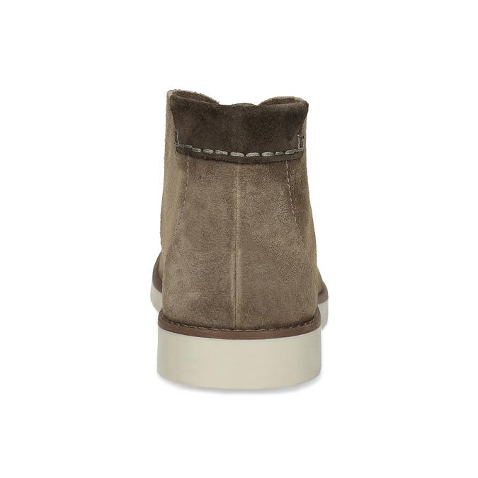 Kožená hnedá pánska Desert Boots obuv flexible, hnedá, 823-8636 - 15