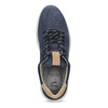 Tmavomodré pánske tenisky z brúsenej kože bata-light, modrá, 846-9722 - 17