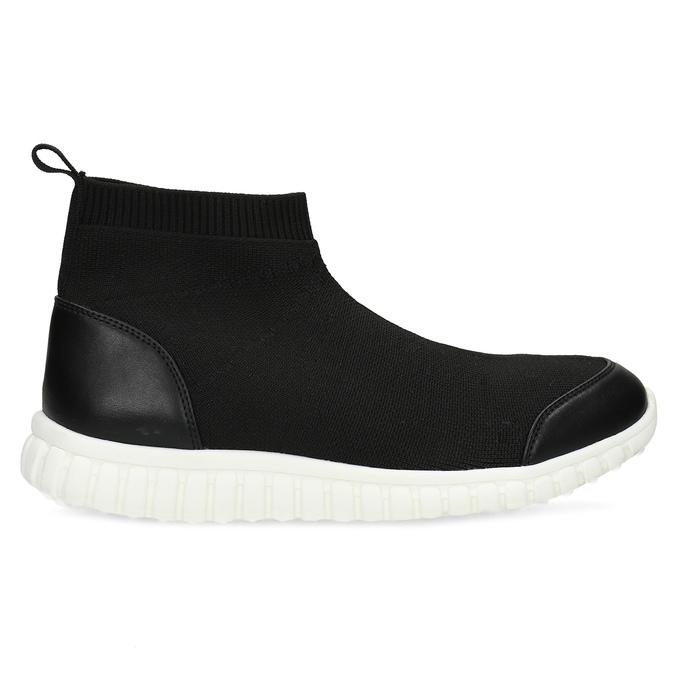 Členková dámska čierna obuv bata-red-label, čierna, 599-6627 - 19