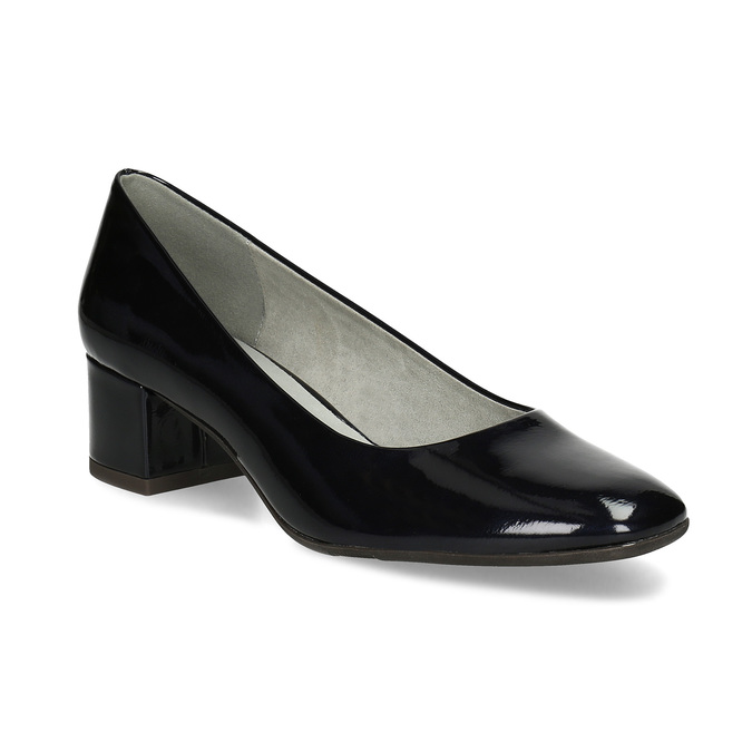 e18d66402f77 Baťa Dámske čierne lakované lodičky šírky G - Všetky topánky