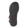 Pánske kožené hnedé Ombré sandále bata, hnedá, 866-4633 - 18