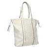 Béžová dámská kabelka s jemnou perforáciou bata, béžová, 961-8933 - 13