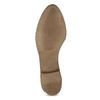 Čierne kožené členkové čižmy bata, čierna, 526-6666 - 18