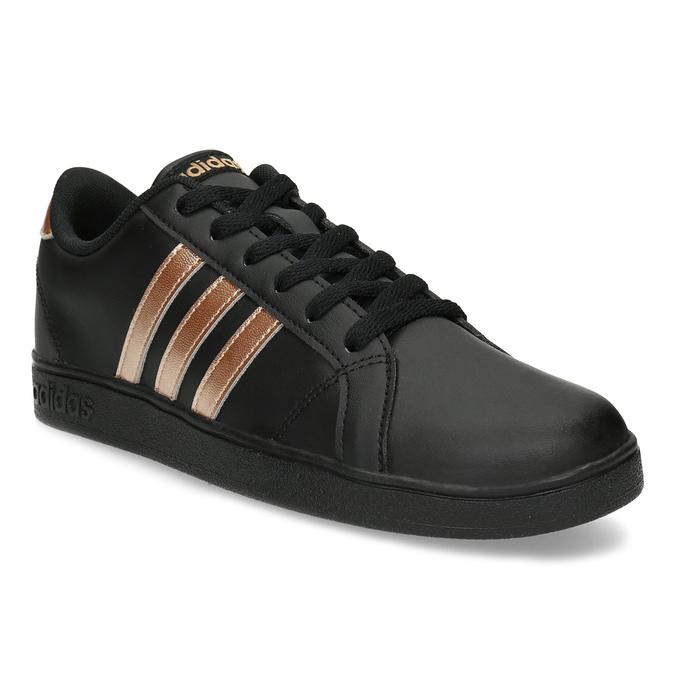 8efc602f318b6 Čierno-zlaté detské tenisky adidas, čierna, 401-6164 - 13