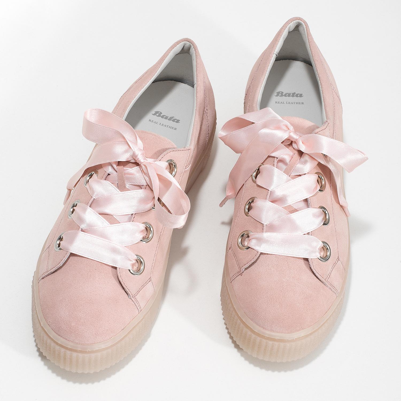 91a27a8c45726 ... Dámske kožené tenisky s mašľou ružové bata, ružová, 543-5600 - 16 ...
