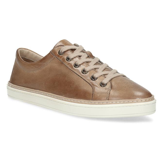 bbc204291 Dámske hnedé kožené tenisky bata, hnedá, 544-3601 - 13