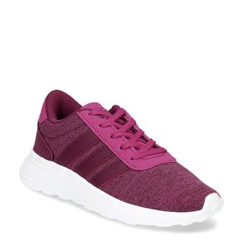 Detské ružové tenisky v športovom štýle adidas, ružová, 309-5209 - 13