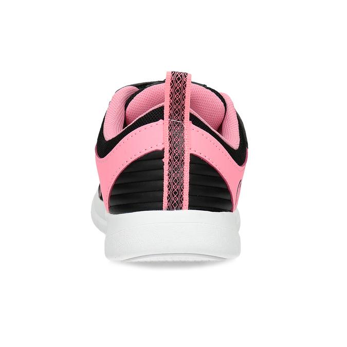 Dievčenské čierno-ružové tenisky bubble-breathe, čierna, 321-6172 - 15