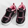 Dievčenské čierno-ružové tenisky bubble-breathe, čierna, 321-6172 - 16