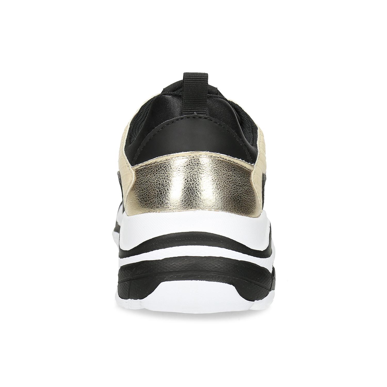 297cc49ba2769 ... Čierne dámske tenisky so zlatými detailami north-star, čierna, ...