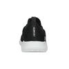 Čierne dámske tenisky v pletenom štýle skechers, čierna, 509-6105 - 15