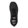 Dámske čierne tenisky s bielou podrážkou adidas, čierna, 509-6102 - 17