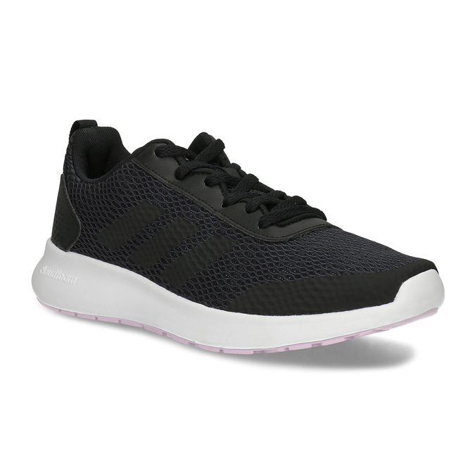 a0ca55a49 Dámske čierne tenisky s bielou podrážkou adidas, čierna, 509-6102 - 13
