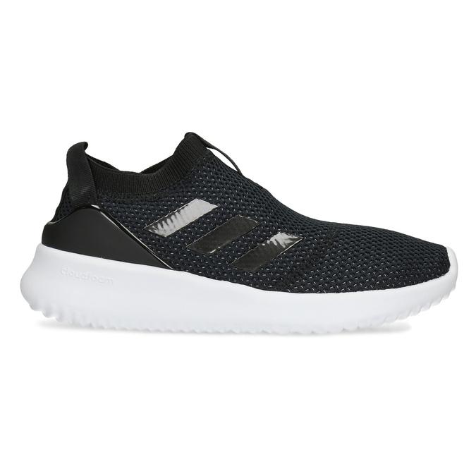 Dámske čierne tenisky s výraznou podrážkou adidas, čierna, 509-6129 - 19