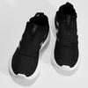 Dámske čierne tenisky s výraznou podrážkou adidas, čierna, 509-6129 - 16