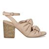 Dámske telové sandále na stabilnom podpätku insolia, ružová, 761-8643 - 19