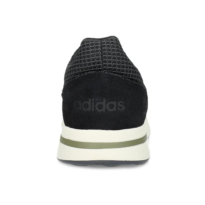 Pánske čierne tenisky všportovom štýle adidas, čierna, 809-6209 - 15