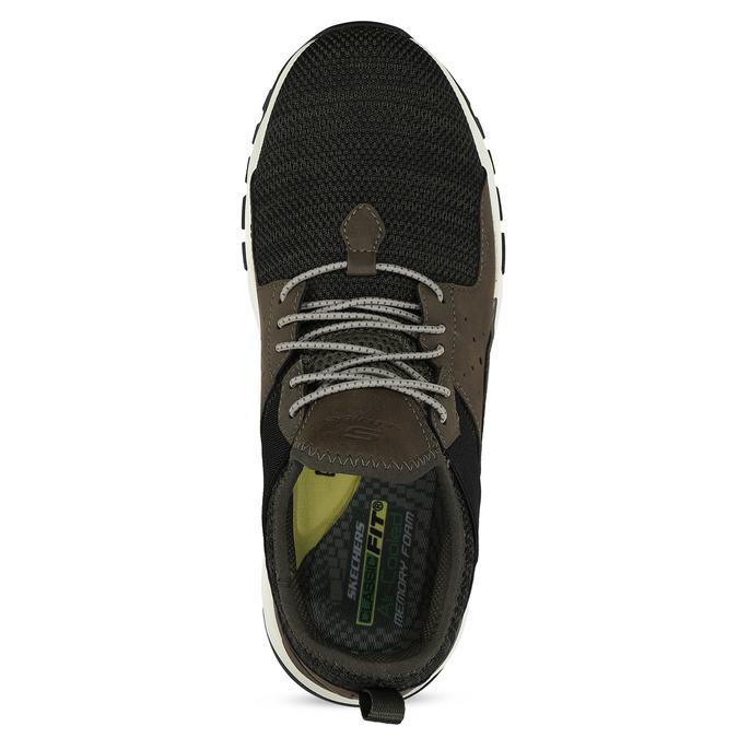 Členkové pánske tenisky s výraznou podrážkou skechers, 809-7102 - 17
