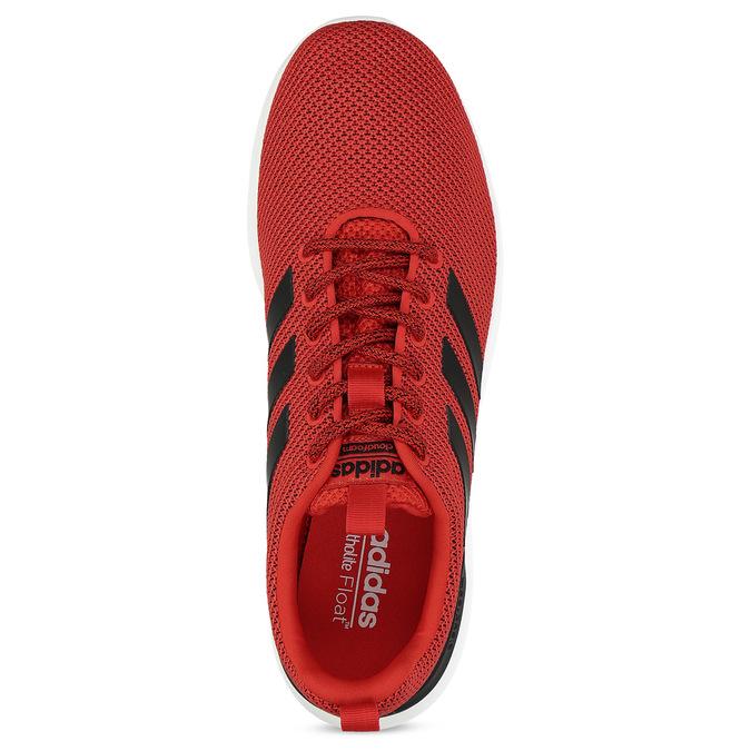 Pánske červené tenisky s čiernymi detailmi adidas, červená, 809-5127 - 17