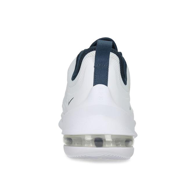 Biele pánske tenisky s perforáciou nike, biela, 809-1134 - 15