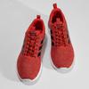 Pánske červené tenisky s čiernymi detailmi adidas, červená, 809-5127 - 16