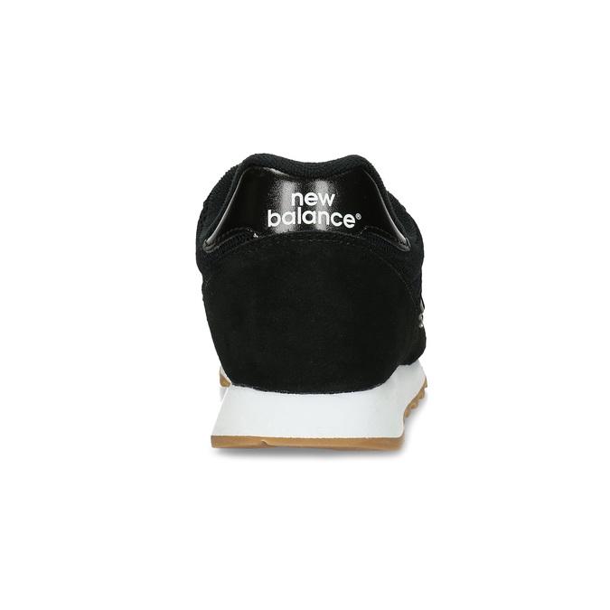 Čierne dámske kožené tenisky new-balance, čierna, 503-6114 - 15