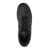 Pánske ležérne čierne tenisky s prešitím nike, čierna, 801-6124 - 17