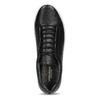 Čierne kožené tenisky vagabond, čierna, 624-6014 - 17