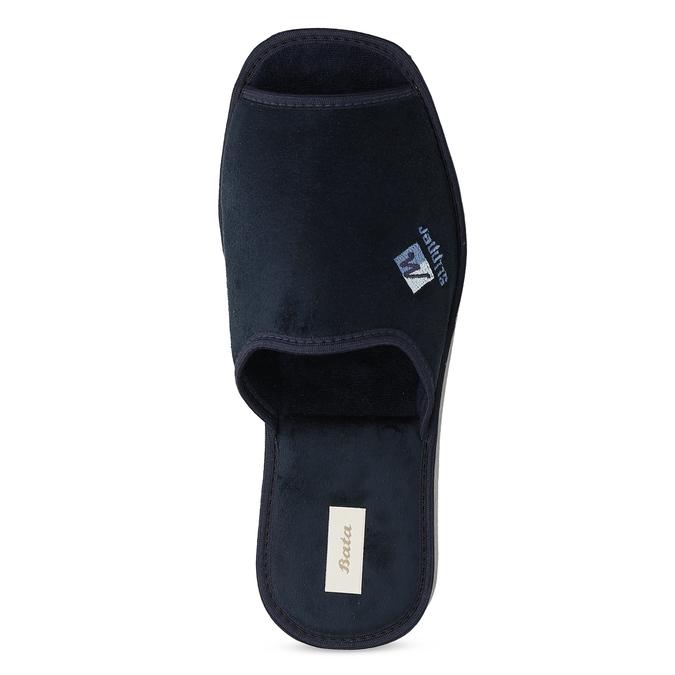 Pánska domáca obuv bata, modrá, 879-9606 - 17
