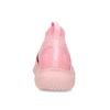 Členkové ružové dámske tenisky z úpletu power, ružová, 509-5237 - 15