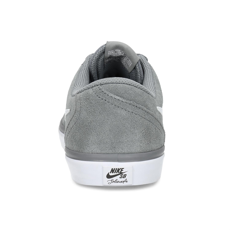 df8a21283e025 ... Sivé pánske tenisky z brúsenej kože nike, šedá, 803-2106 - 15 ...
