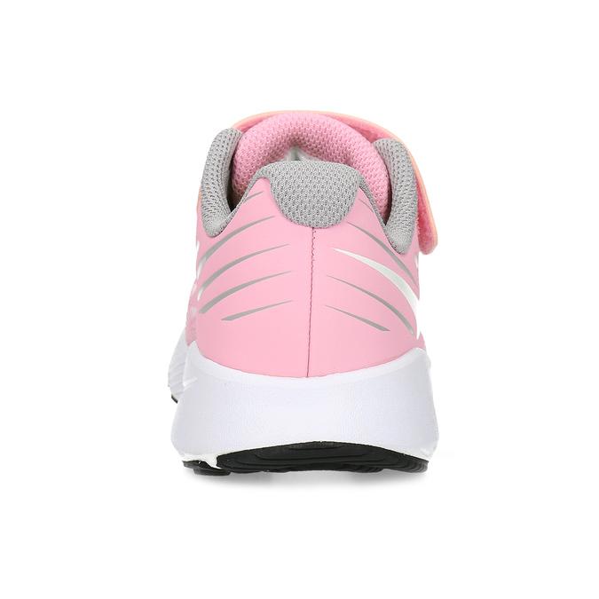 Dievčenské svetloružové tenisky nike, ružová, 309-5211 - 15