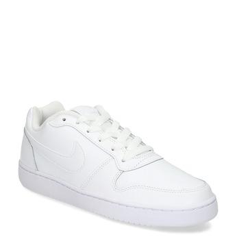 Biele pánske ležérne tenisky s prešitím nike, biela, 801-1124 - 13
