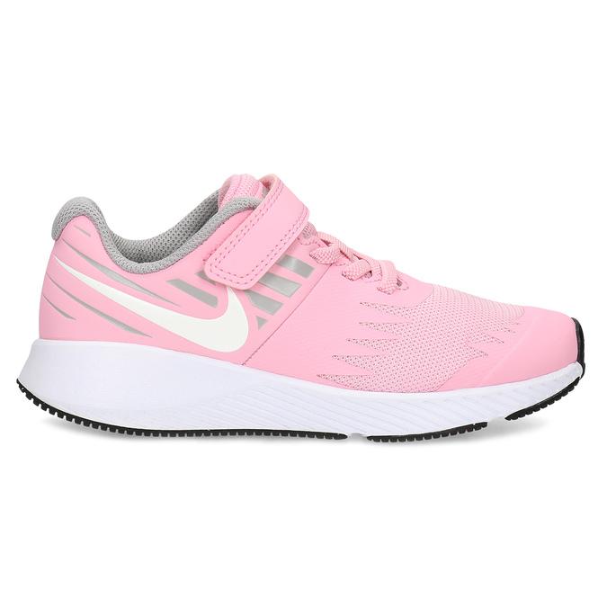 Dievčenské svetloružové tenisky nike, ružová, 309-5211 - 19
