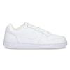 Biele pánske ležérne tenisky s prešitím nike, biela, 801-1124 - 19