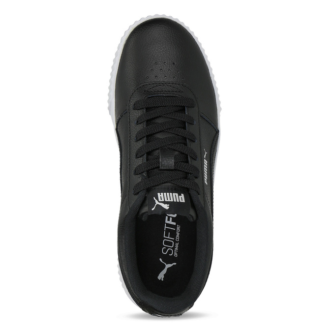 Čierne tenisky na flatforme puma, čierna, 501-6188 - 17