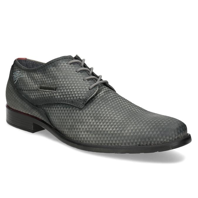 c57166808085 Bugatti Sivé pánske ležérne kožené poltopánky - Všetky topánky