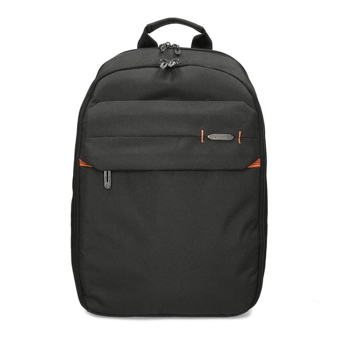 Čierny kvalitný cestovný batoh samsonite, čierna, 960-6056 - 26