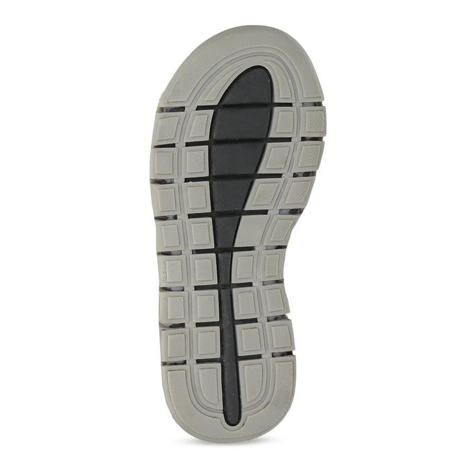 Chlapčenské šedé kožené sandále mini-b, šedá, 263-2605 - 18