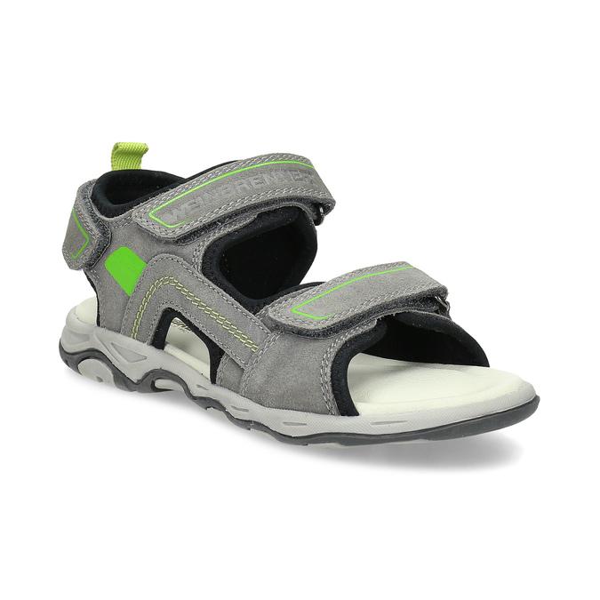 869c9da491de Weinbrenner Chlapčenské sivé sandále kožené - Deti